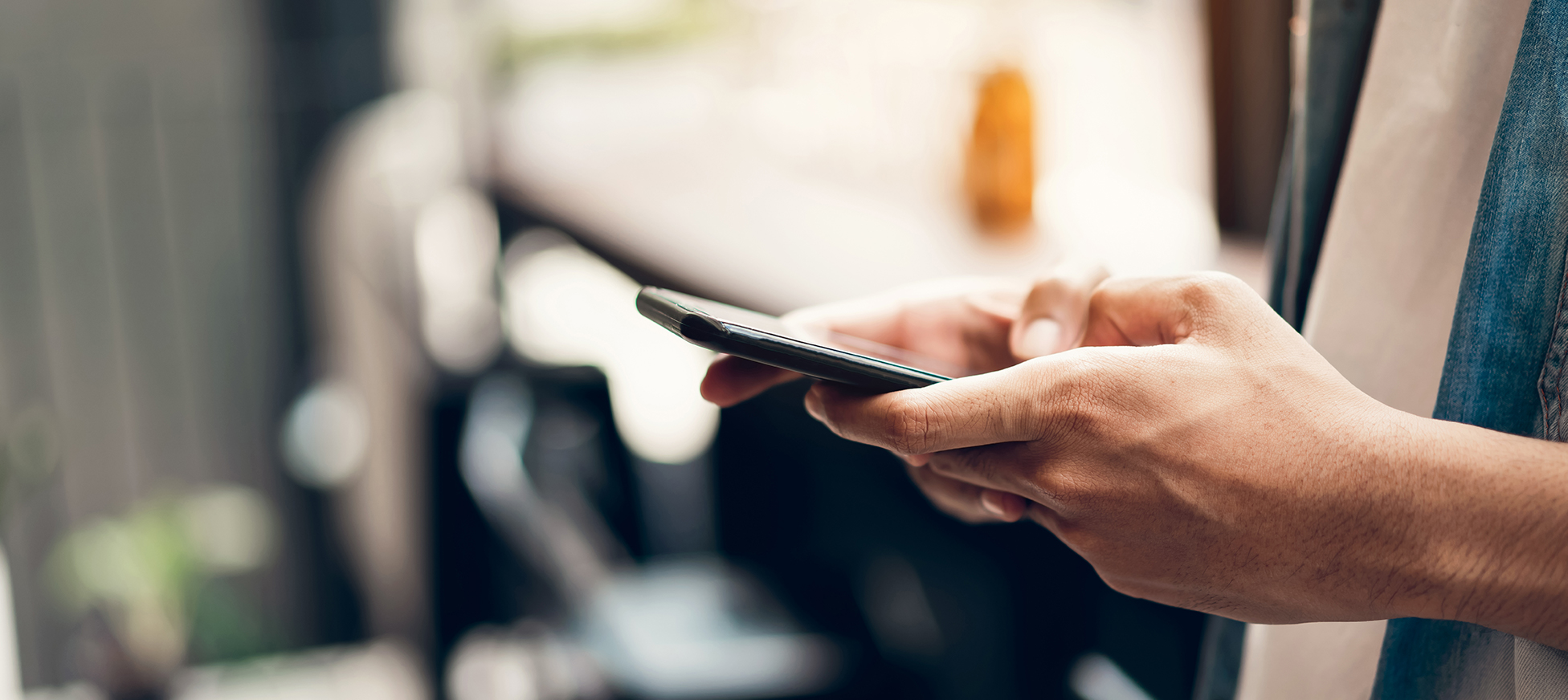 Using cell phone to contact Liberty Paperwork Solutions